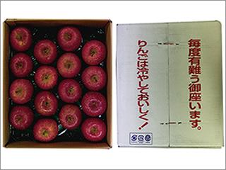 サンふじ(みつ入り) 32個入り(16個×2段) 青森産